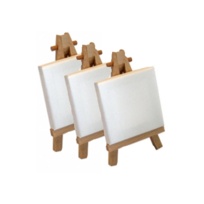 reeves holz mini staffelei einzeln oder 3er set. Black Bedroom Furniture Sets. Home Design Ideas